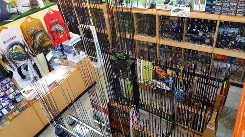cañero de pared relix vertical grip goma tornillos 6 cañas pesca porta posa caña baitcast spinning pejerrey lance variad