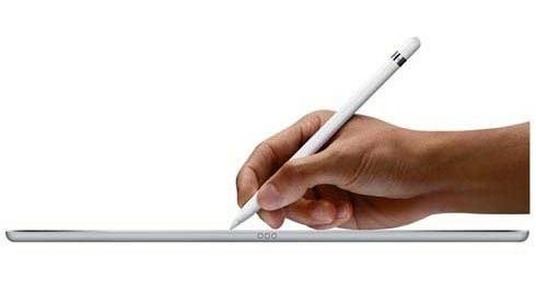 caneta apple pencil para ipad pro branco - mk0c2bea