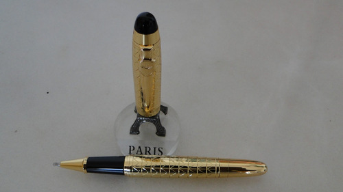 caneta ballpoint (esferográfica)  ouro importada..