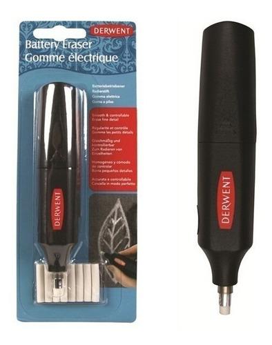 caneta borracha eletrica desenho derwent + 60 refis
