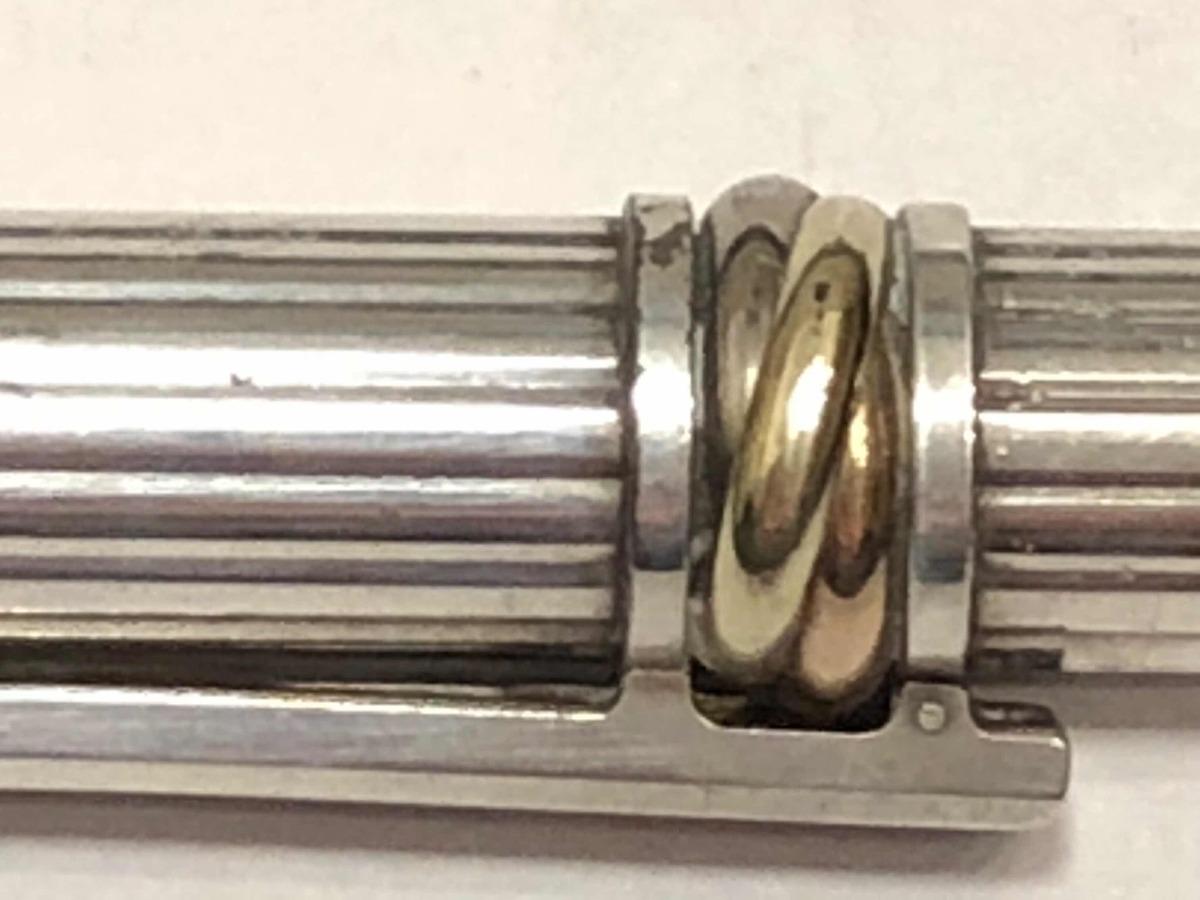 c2bba8d923f caneta cartier must de cartier trinity de prata esterlina. Carregando zoom.