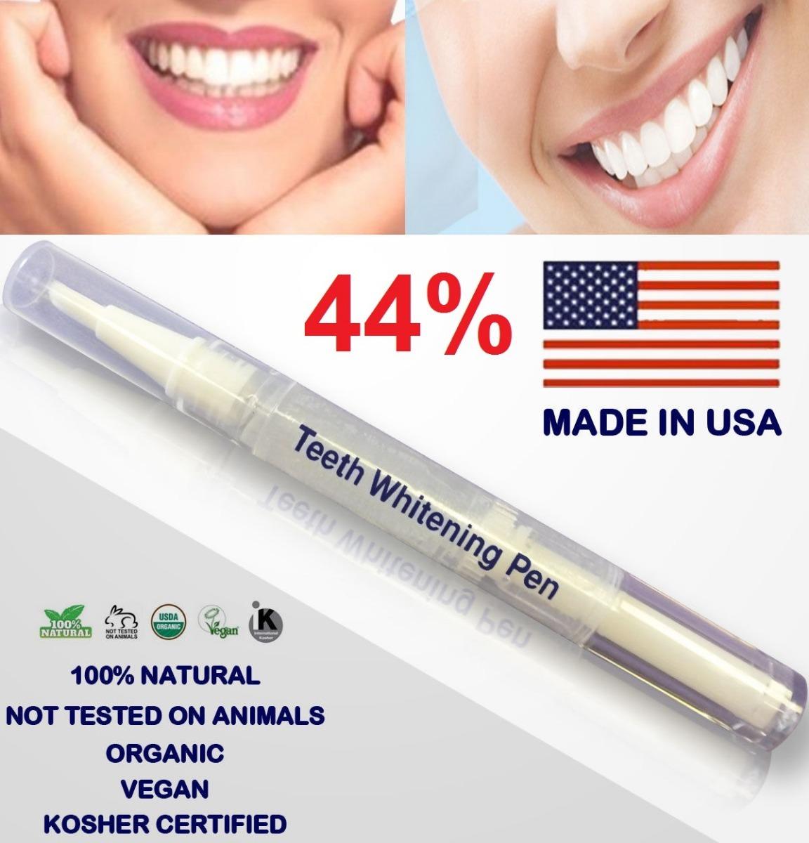 Caneta Clareador Dental Gel 44 Branqueadora Dentes Brancos R 19