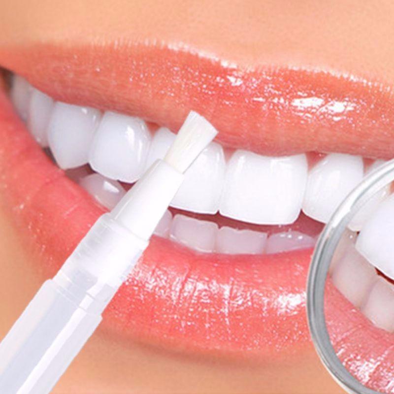 Caneta Clarear Dentes Clareadora Branqueadora Dental Prata R 7 49