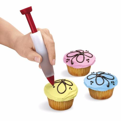 caneta confeiteiro decoração bolos padaria buffet kit cakes