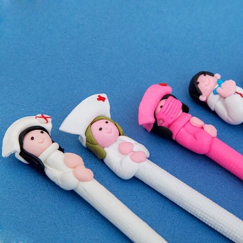 caneta criativa enfermagem medicina decorativa promoção!!