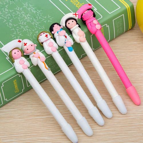 caneta criativa enfermeira médico decoração promoção!!