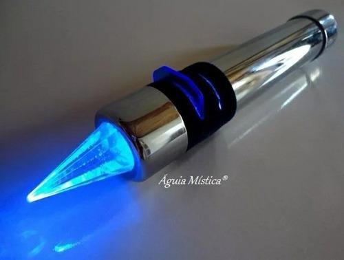 caneta cromopuntura e auriculoterapia cristal quartzo agulha