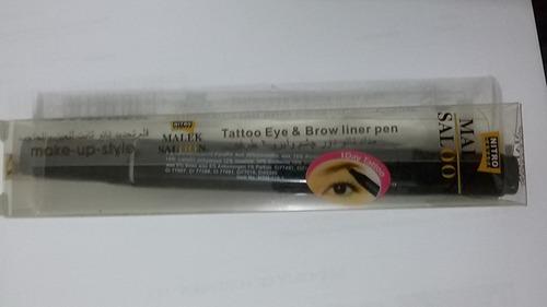 caneta de henna egipcia  para sobrancelhas - pronta entrega