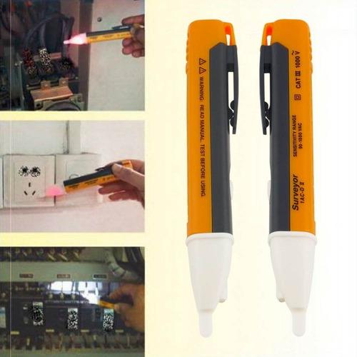 caneta detectora de energia voltímetro teste tensão sonora