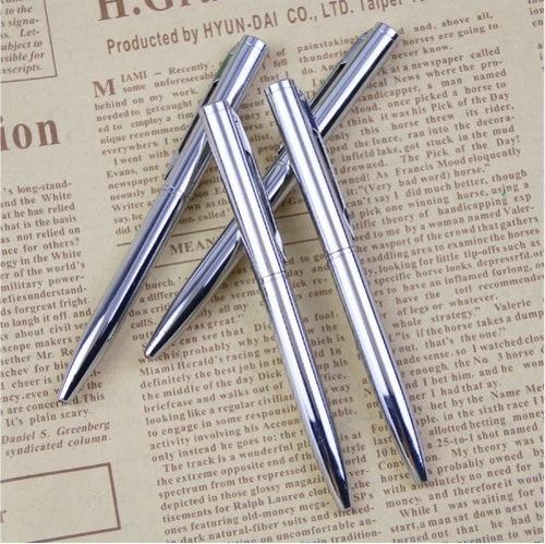 caneta esferográfica metal luxo pequena