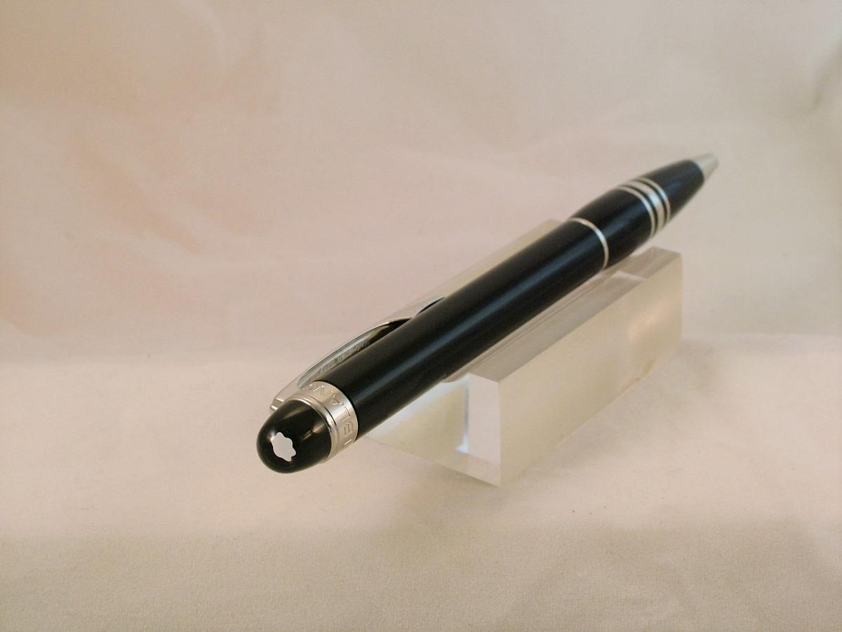 12a3bf8a668 caneta esferográfica mont blanc starwalker platinum nova. Carregando zoom.