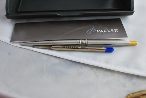caneta esferográfica parker 100% original made uk