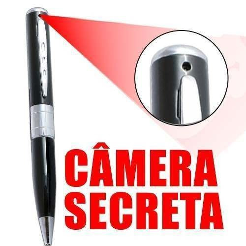 caneta espionagem micro cameras espias camera discreta 16gb