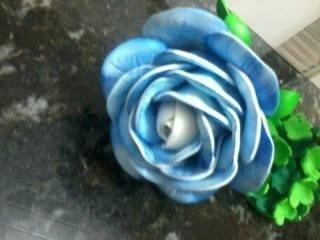caneta flor eva