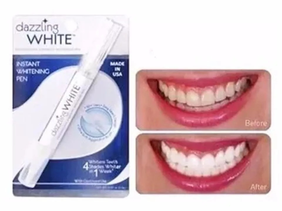 Caneta Gel De Clareamento Dental Dazzling White Eua R 15 90 Em