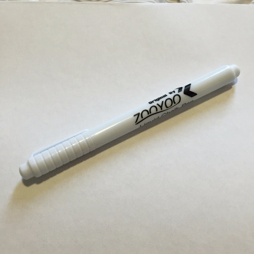 caneta giz liquido branca - frete r$7,00