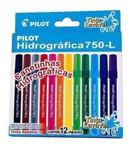 caneta hidrográfica lavavel pilot color 750 l junior cj12