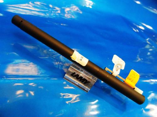 caneta lamy 56-m  tinteiro cp-1 agenda aço  original coleção