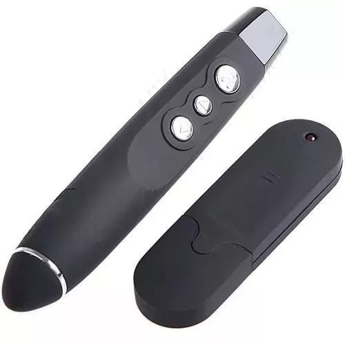 caneta laser controle remoto usb apresentador power point