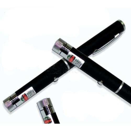 caneta laser pointer verde 200mw c/ ponteira multi pontos