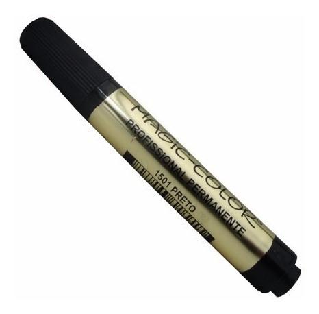 caneta marcador permanente magic color 1 pont cj12 básicas