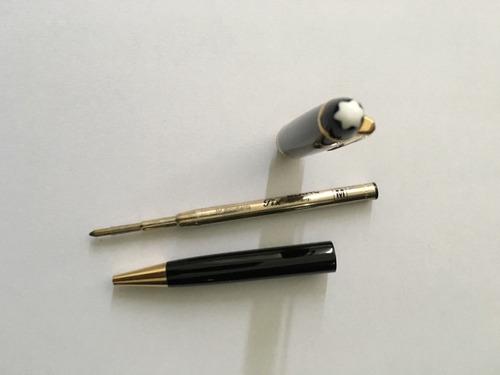 caneta mont blanc 144 black