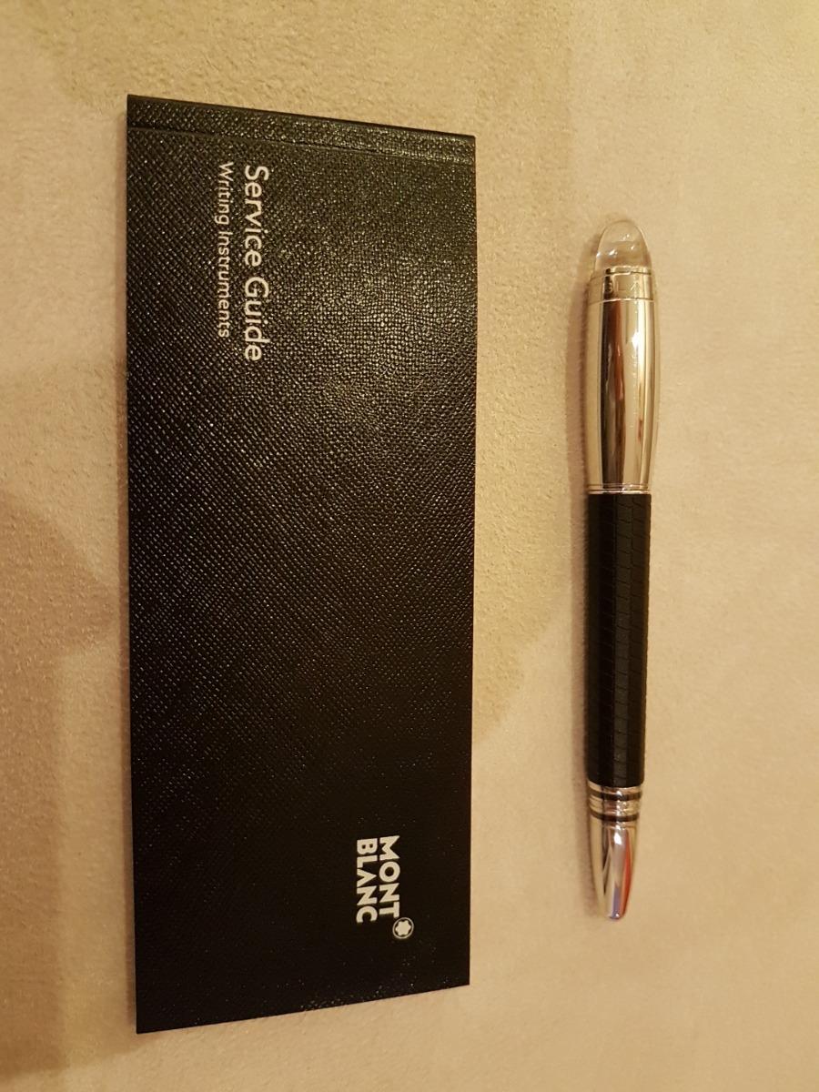 258dd848914 caneta mont blanc fineliner starwalker original. Carregando zoom.