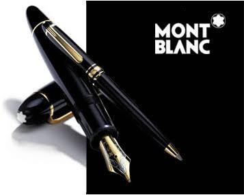 787b4e810ee Caneta Mont Blanc Meisterstuck Classique Ouro Original - R  1.770 ...