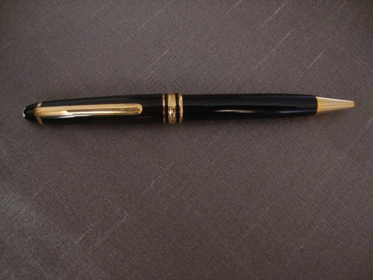 98f34092cf8 caneta mont blanc meisterstuck original folhada ouro. Carregando zoom.