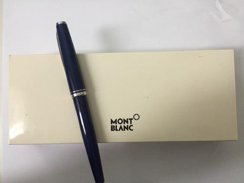 caneta montblanc cruise collection atlantic blue - original