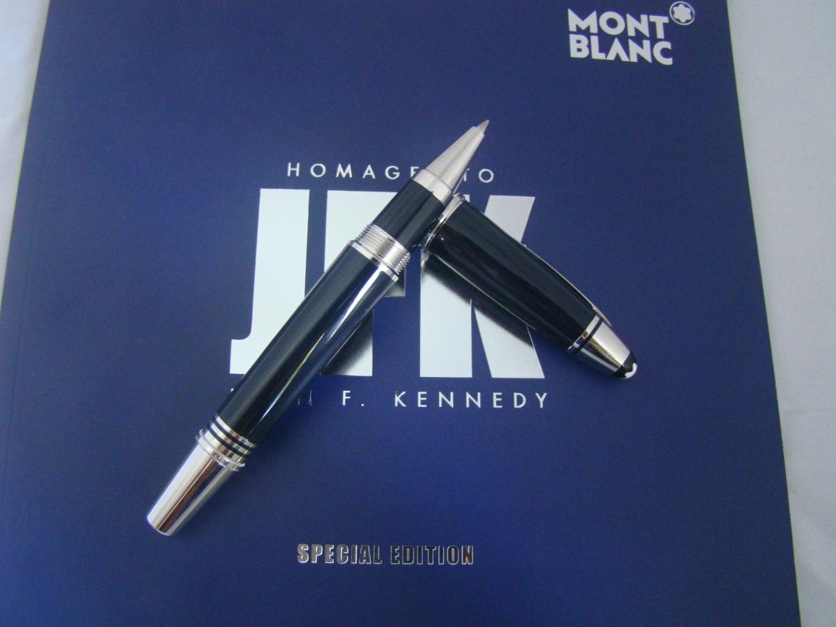 cdfcdbf56dc caneta montblanc jfk rollerball impecável 100% original. Carregando zoom.