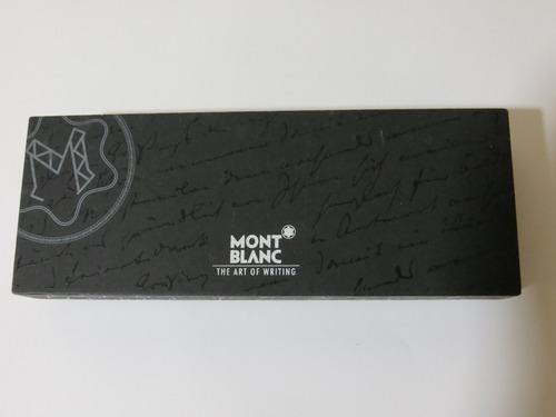 caneta montblanc meisterstuck classic esferográfic original