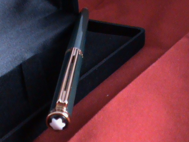 706fb351226 Caneta Montblanc Noblesse Oblige Verde Esfero 100% Original - R  790 ...