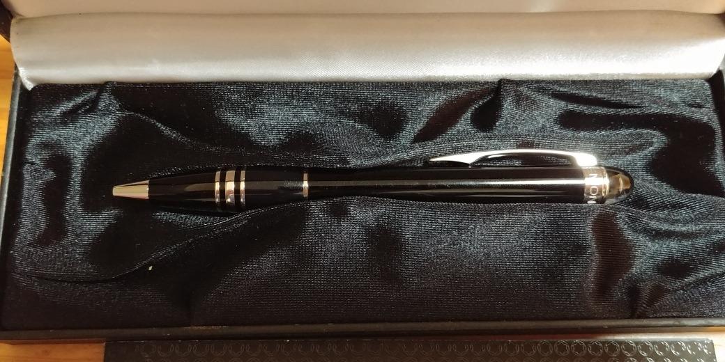 af23e38131c caneta montblanc roller starwalker platinum original sem uso. Carregando  zoom.