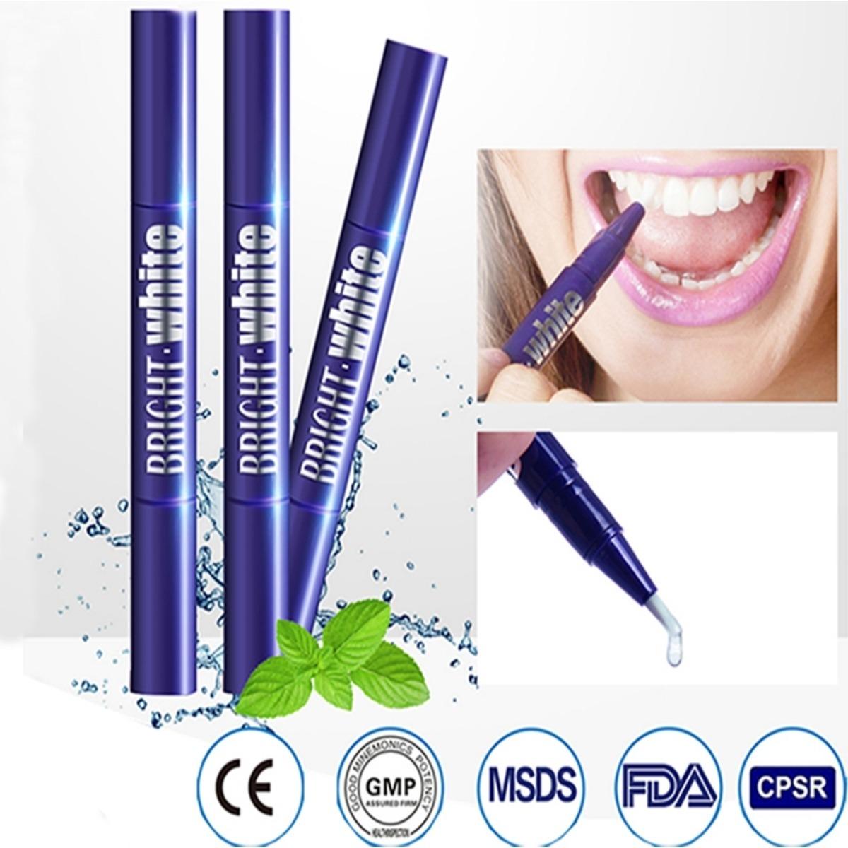Caneta Para Clareamento Dental Profissional Gel Bright White R 19