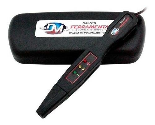 caneta para teste de polaridade com iluminação