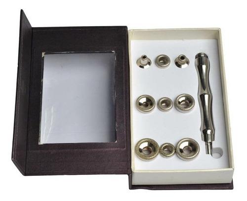 caneta peeling diamante com 9 ponteiras