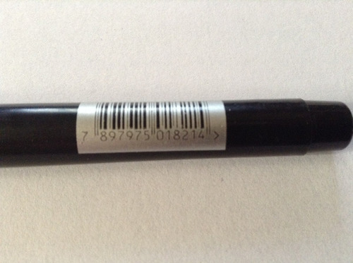caneta perm cd maxprint preta 1.0 703124  caixa c/12 canetas