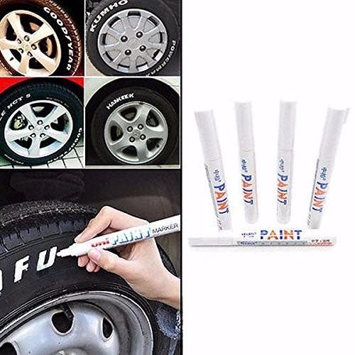 caneta pinta pneus carro moto bike tinta automotivo pneu etc