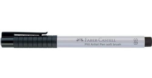 caneta pitt faber castell ponta pincel sb cold grey i 230