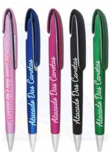 caneta plástica virgem para personalização cód12505 (100pçs)