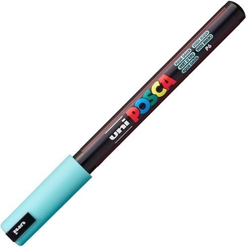 caneta posca pc-1mr verde água pastel