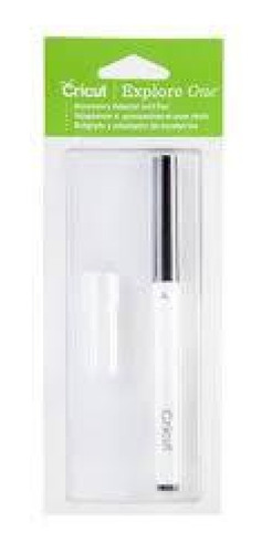caneta preta e adaptador para máquina cricut explore