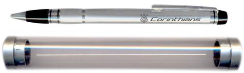 caneta social com tubinho - corinthians