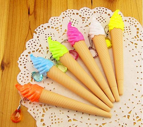 caneta sorvete ice cream festa criativa brinde festa 5 un