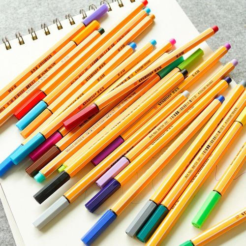 caneta stabilo point 88 - valor unitário de cada caneta