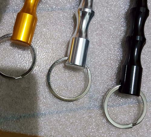 caneta tatica 007 defesa pessoal kubaton kubotan metal