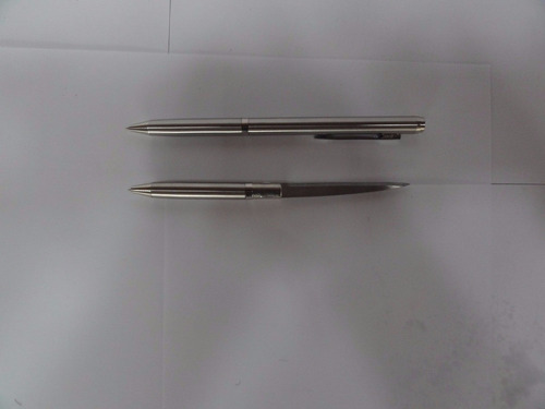 caneta tatica 007 defesa pessoal lâmina disfarçada faca