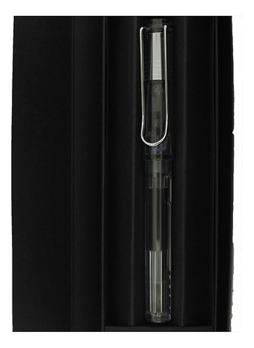 caneta tinteiro lamy vista transparente