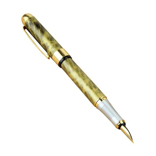 caneta tinteiro luxo jinhao mesclada
